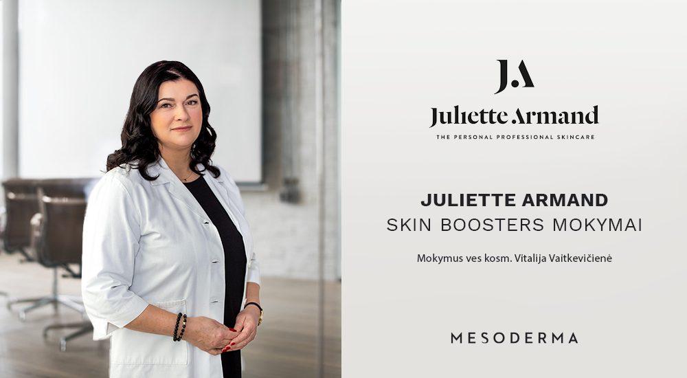 juliette armand-skin-boosters-mokymai-mesoderma